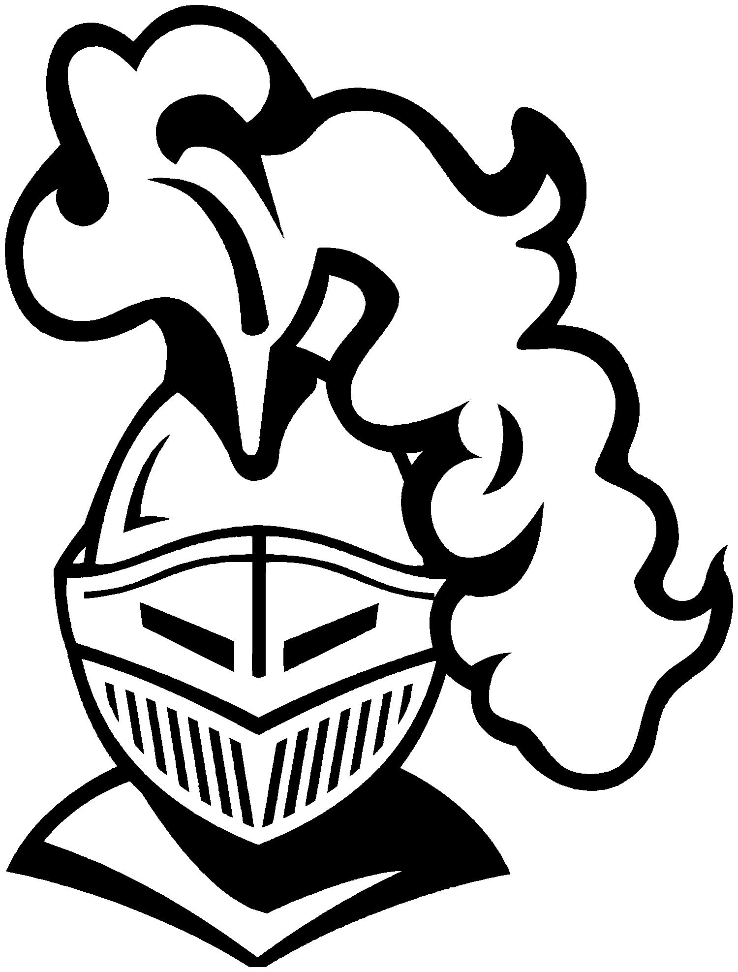 Lancer Mascot Clipart.