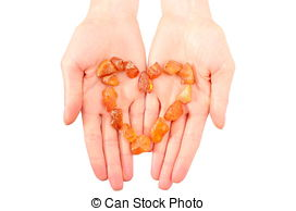Stock Photo of Hand of woman using lancet on finger. White.