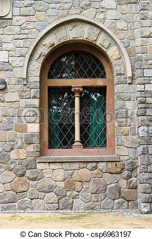 Picture of Medieval window.
