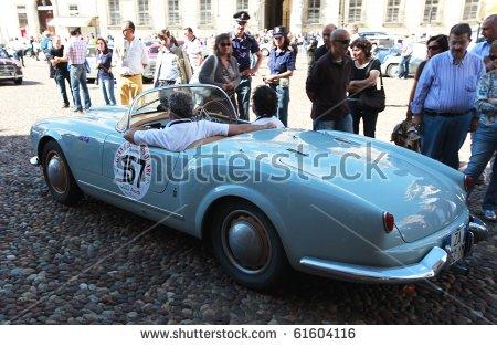 Alfa Romeo Spider Stock Photos, Royalty.