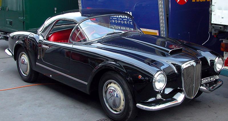 Lancia Aurelia B24 Spider with rare factory hardtop..