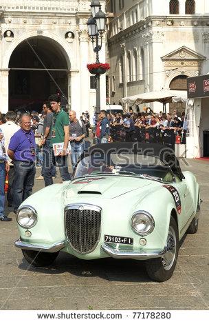 Lancia Aurelia Stock Photos, Royalty.