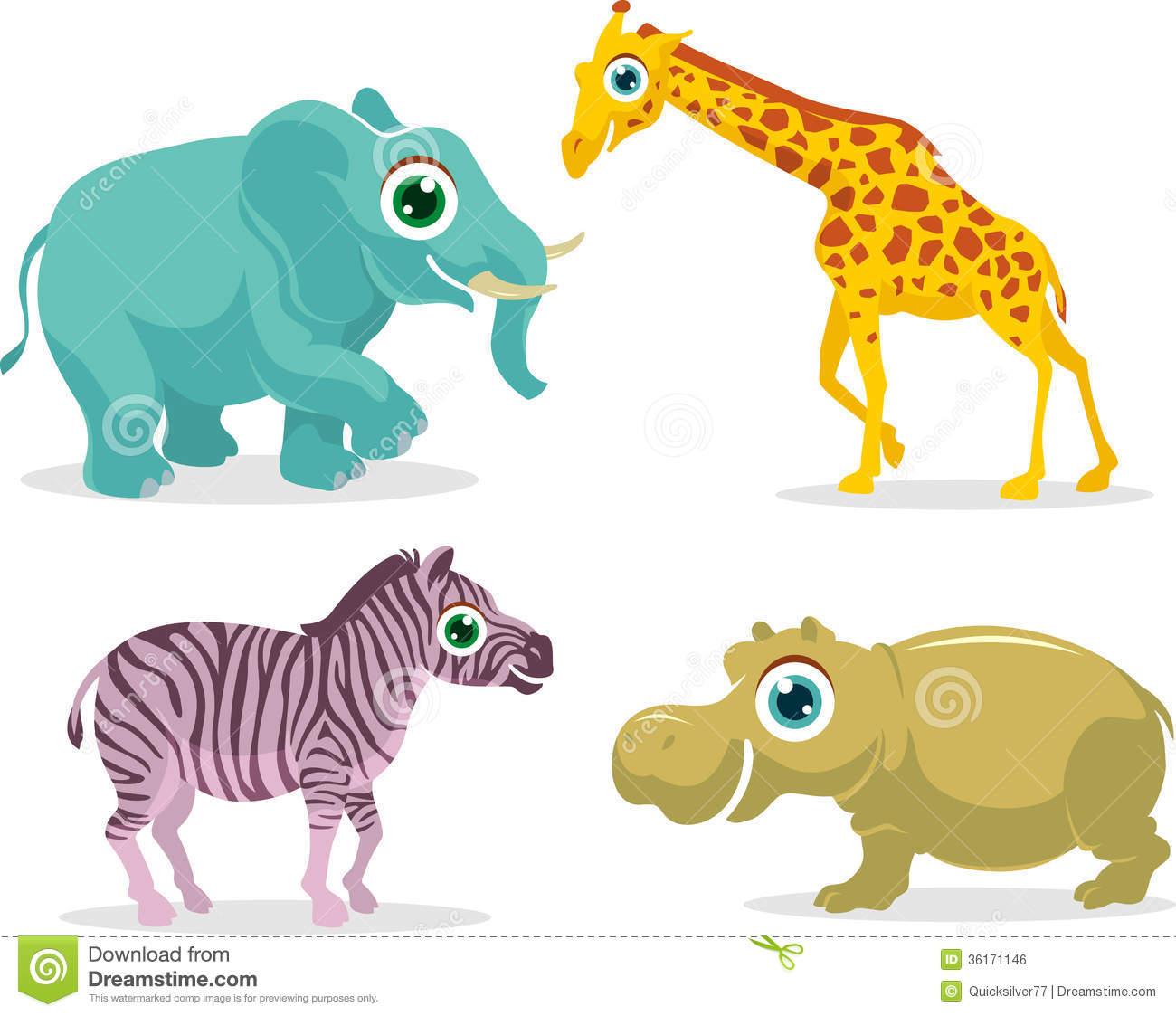 Land Animals Clipart.