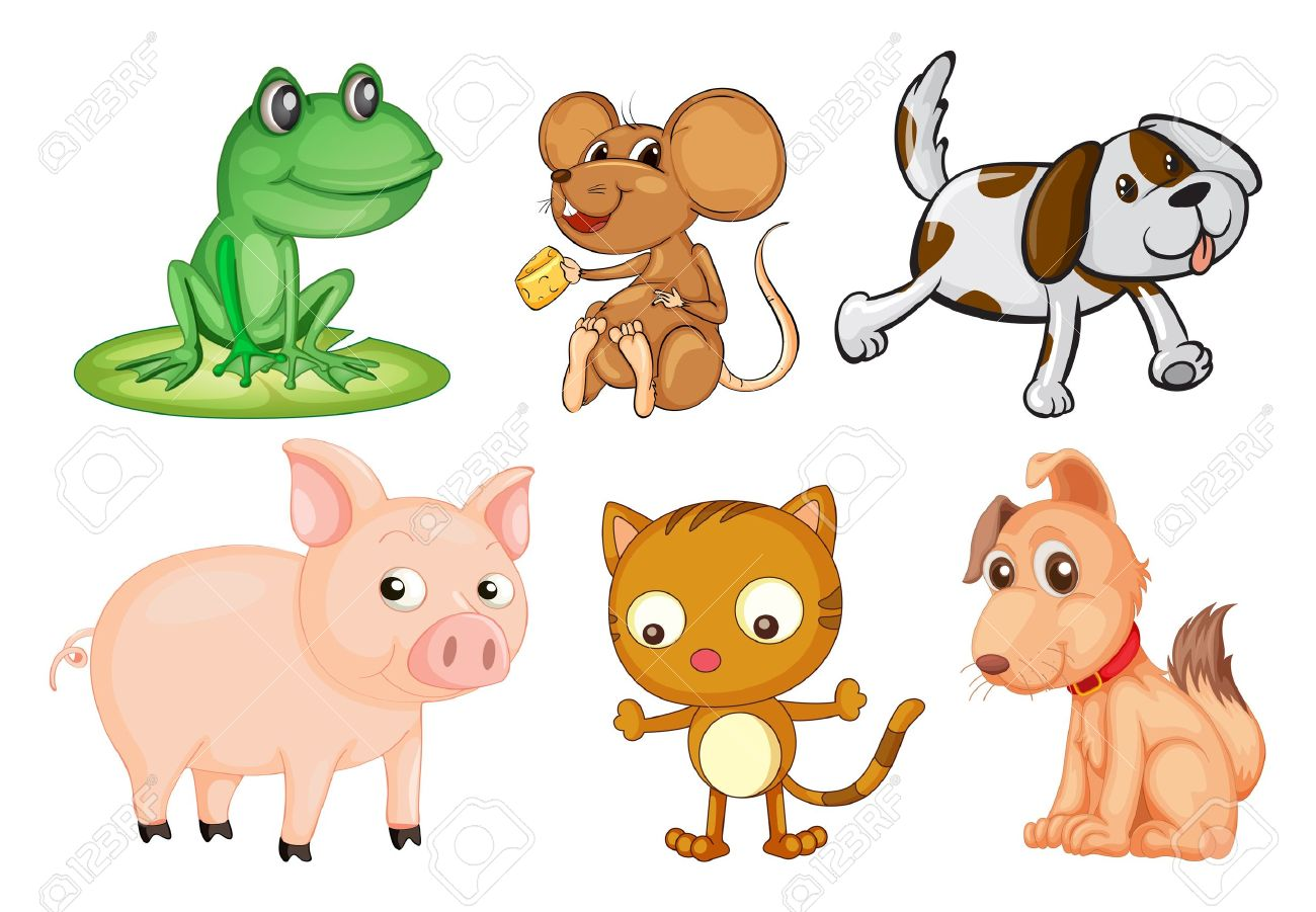 Land animal clipart.
