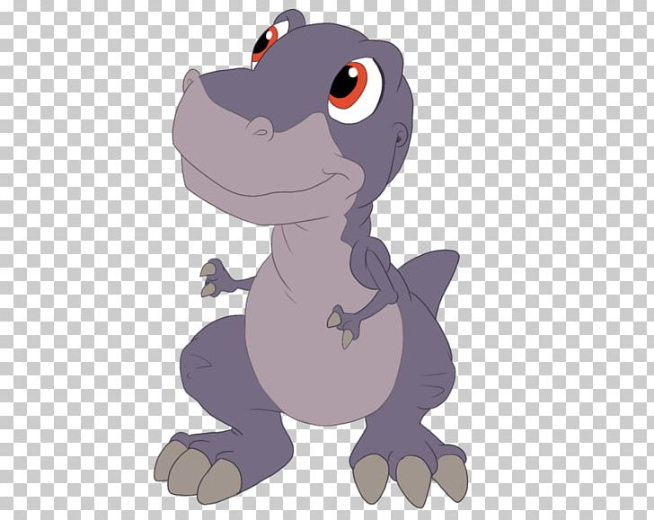 Chomper YouTube Ducky Petrie The Land Before Time PNG.