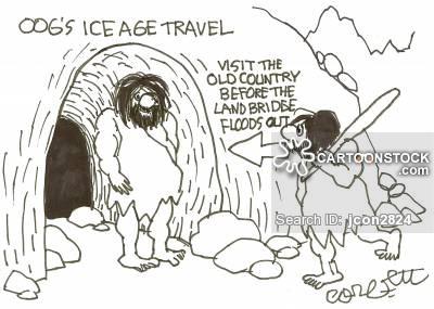 Land Bridge Cartoons and Comics.
