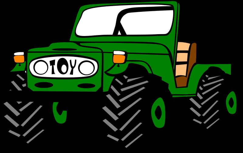 Free Clipart: Toyota Land Cruiser.
