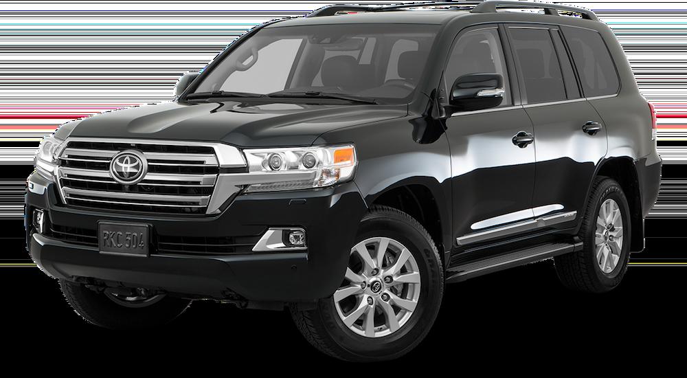 2019 Toyota Land Cruiser.