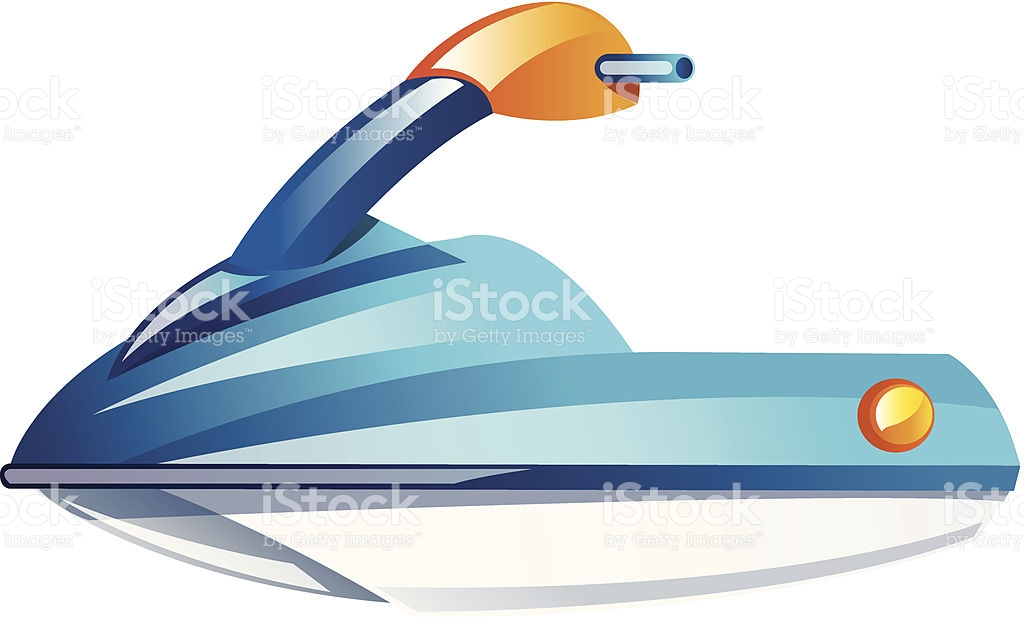 Vector Icon Jet Ski stock vector art 186548567.