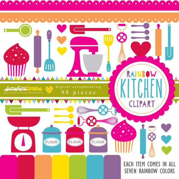 1000+ ideas about Rainbow Kitchen on Pinterest.