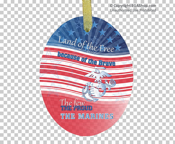 Christmas ornament Product Christmas Day, land of the free.