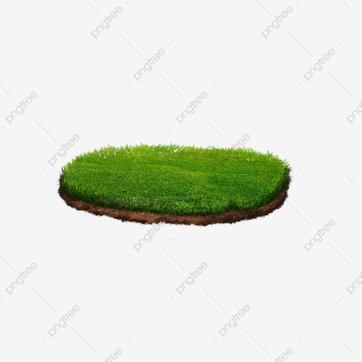 Grass Cross Section Of The Land, Grass Clipart, Cross.