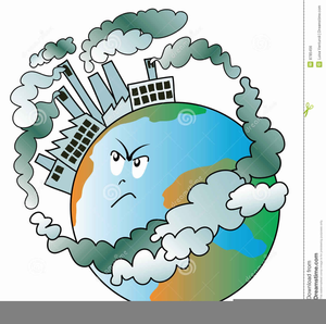 Clipart Of Land Pollution.