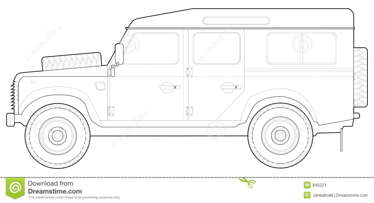 Land Rover 110.