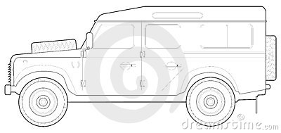 Land Rover 90 Stock Images.