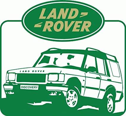 Land Rover Car Bumper Sticker 5\