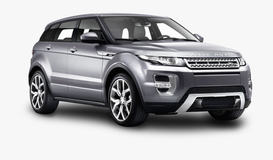 Range Rover Evoque Silver Png Clipart.