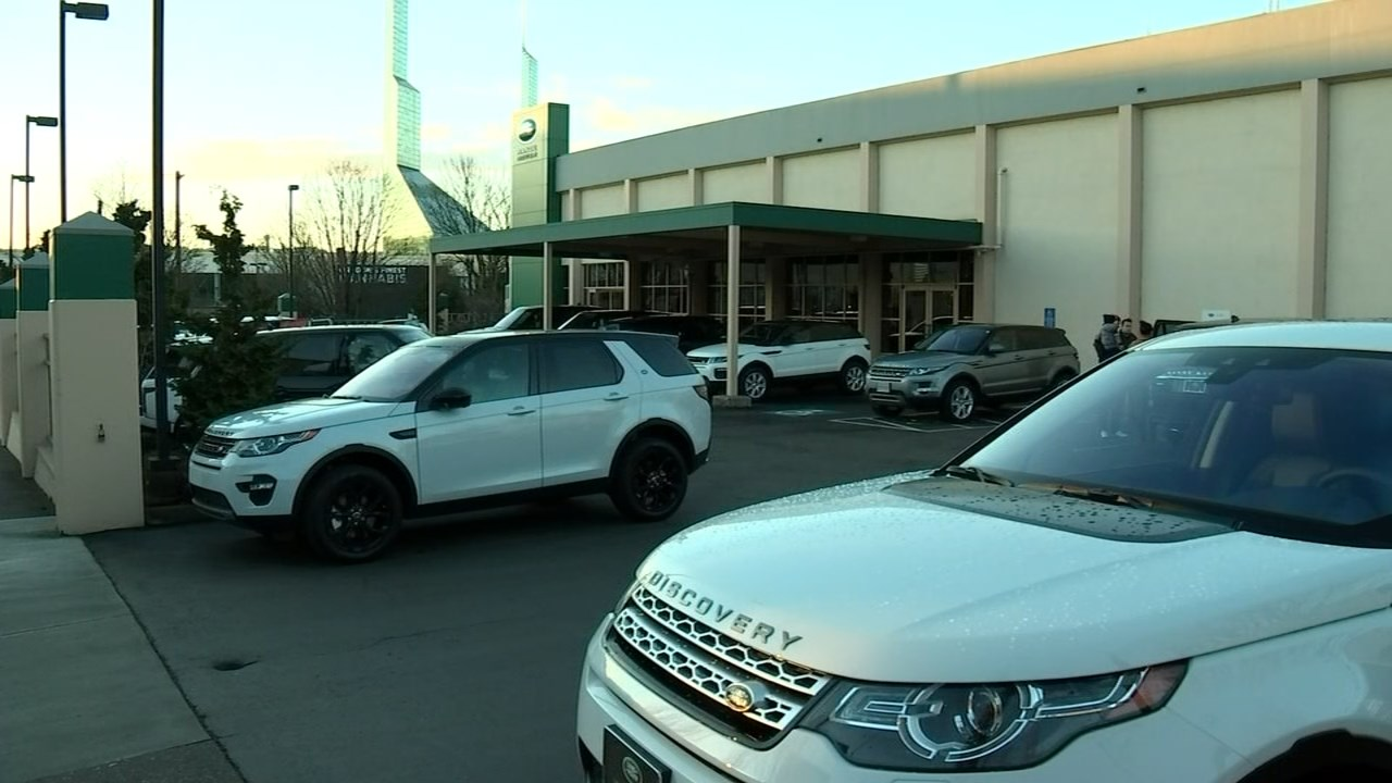 Police: Vehicles stolen from Land Rover Portland dealership.