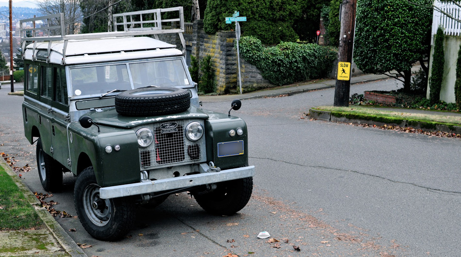 Land Rover Station Wagon.