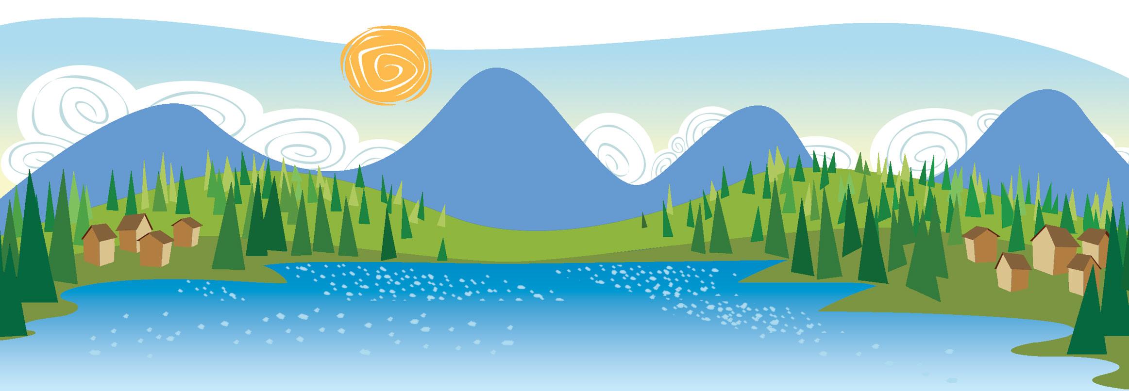 Landscape Clip Art Free Downloads.
