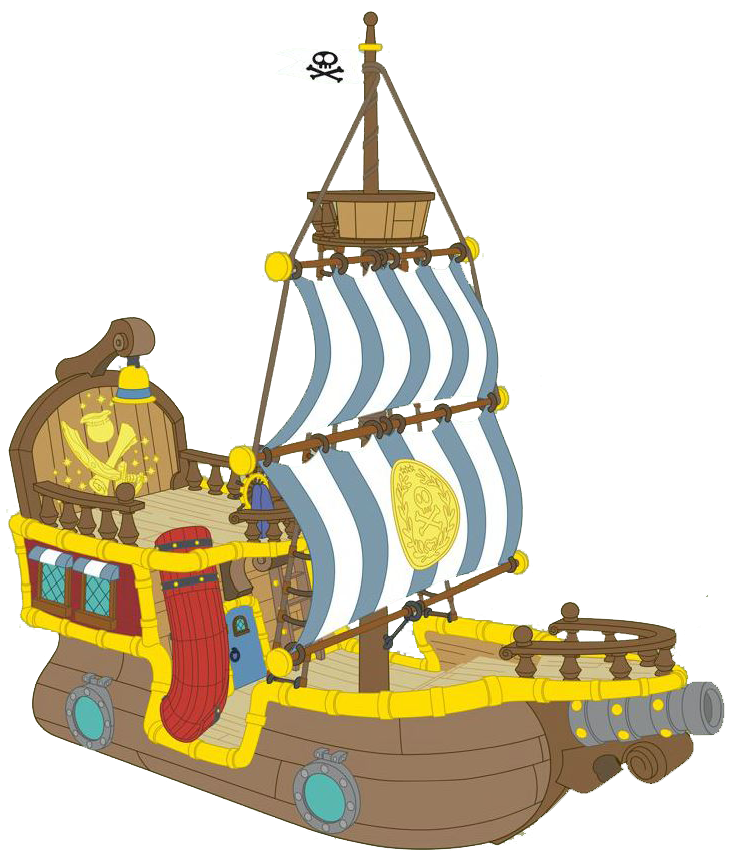 Jake and the neverland pirates bucky clipart.