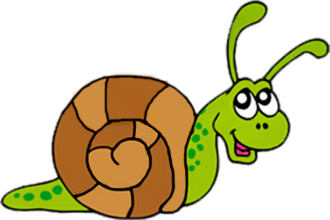 Clipart of a snail.