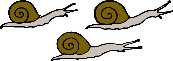 Garden Snail Clipart.
