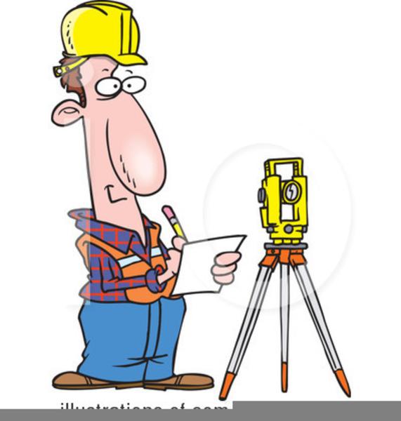 Land Surveyors Clipart.