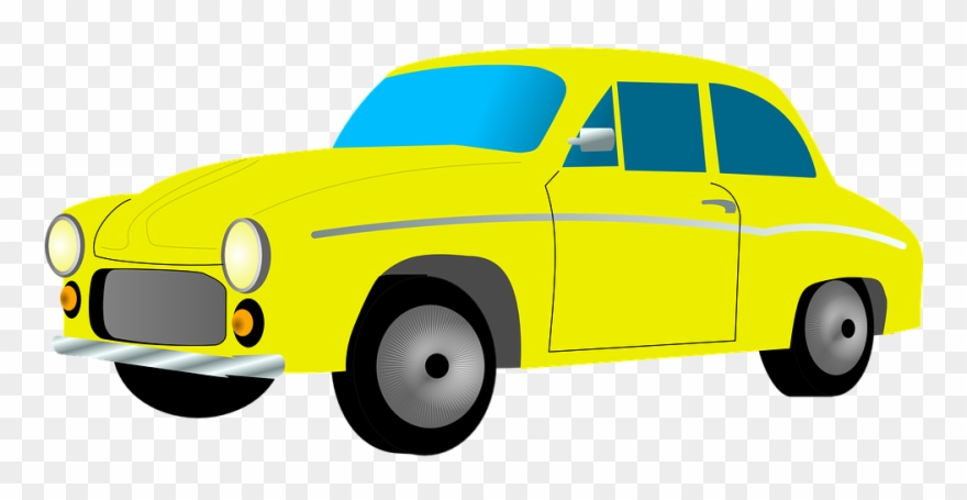 Taxi Cab Clipart Land Transportation.