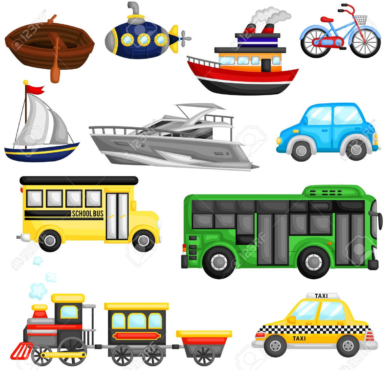 Land transport clipart 4 » Clipart Station.