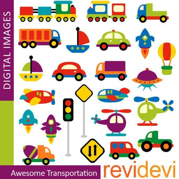 Transportation clipart commercial use / Awesome.