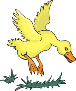 Duck Landing Clip Art at Clker.com.