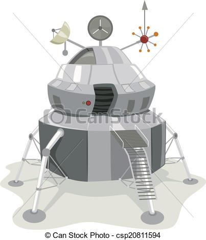 EPS Vectors of Space Lander.