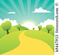 Landschaft Clipart Illustrationen. 122.533 landschaft Clip Art.