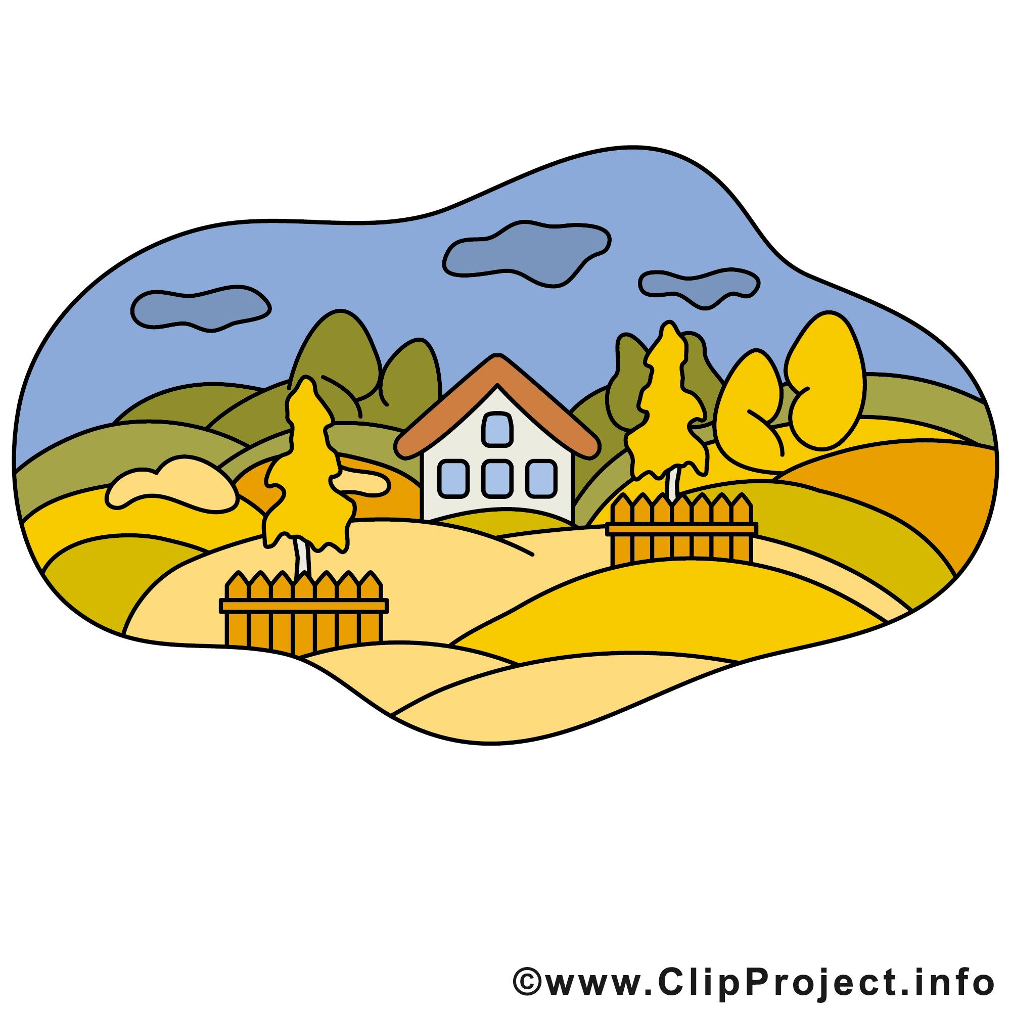 Landschaft Clipart.