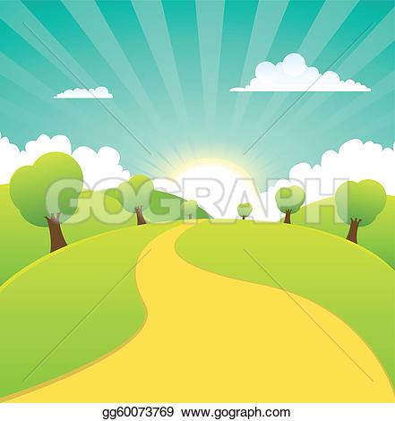 Landscape Clip Art.