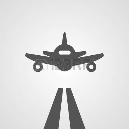 8,365 Landing Plane Stock Vector Illustration And Royalty Free.