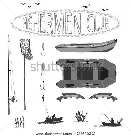 Landing Net Isolated Stock Photos, Royalty.