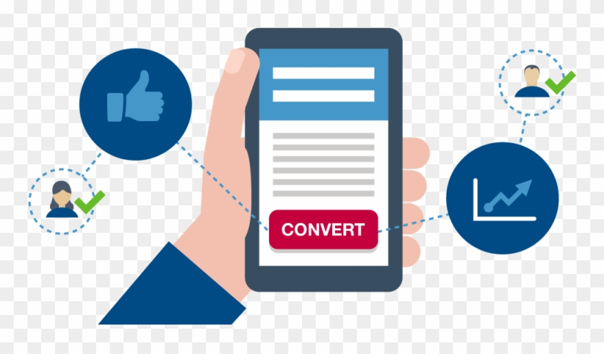 A Landing Page Is Used To Convert Visitors Into Leads.