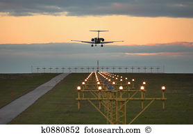 Airplane landing Images and Stock Photos. 18,670 airplane landing.