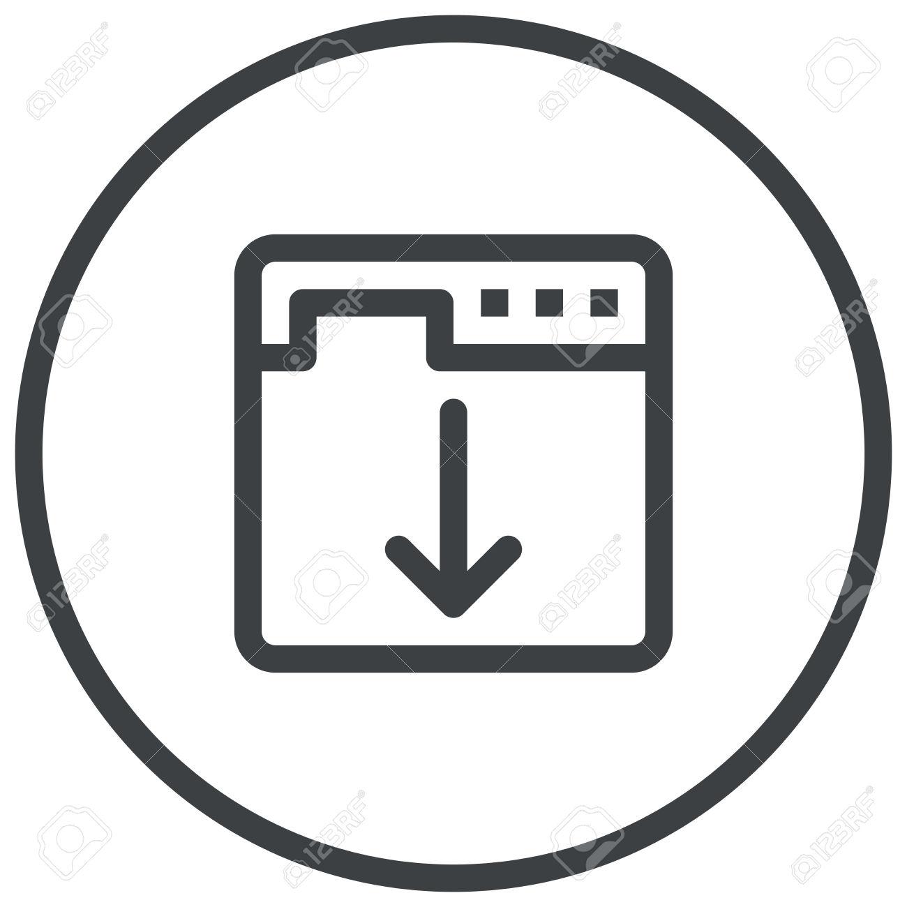 Landing Page Optimization, Web Browser Displays A Web Page Modern.