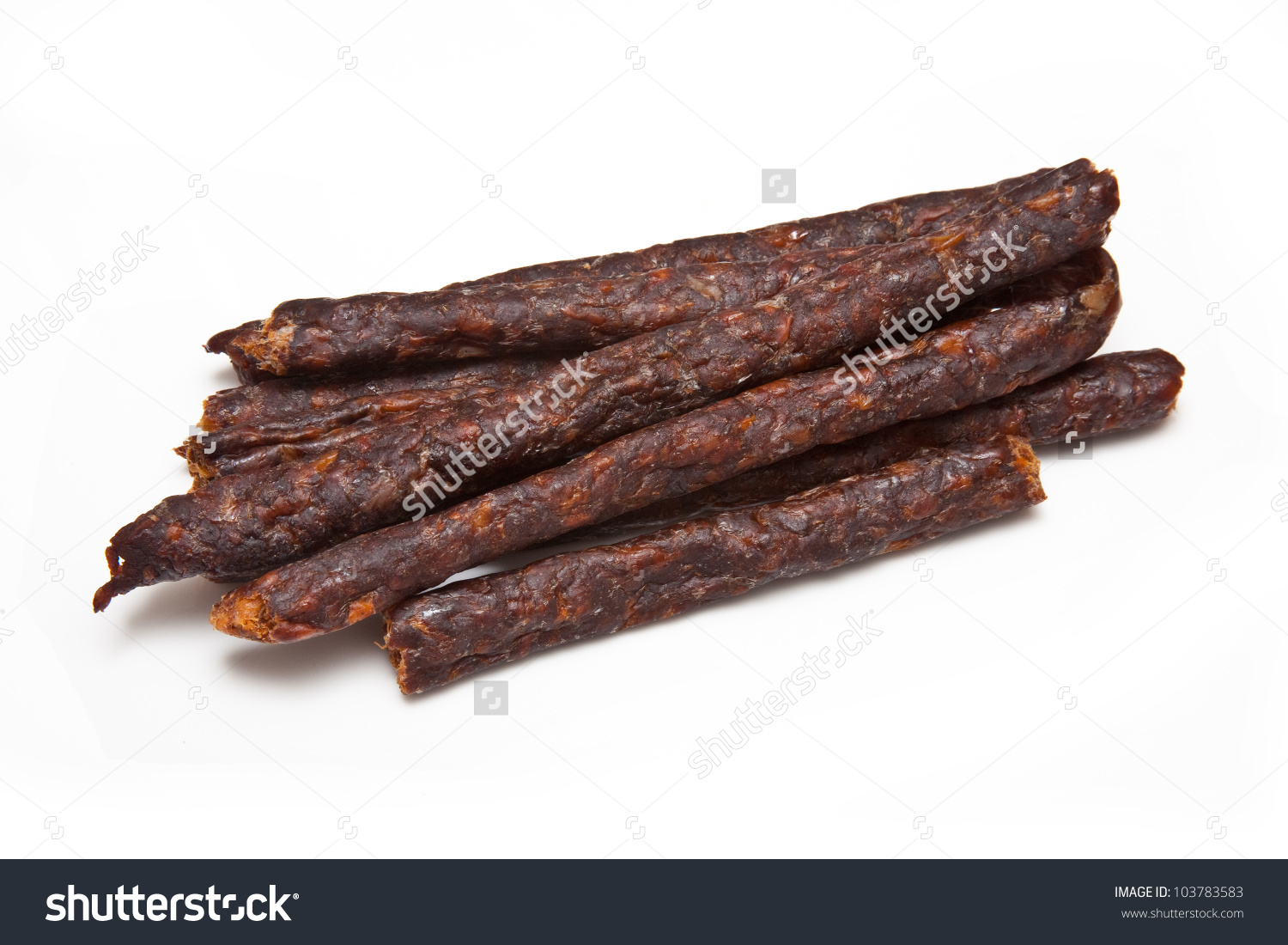 South African Spicy Peri Peri Drywors (Dried Sausage Jerky.