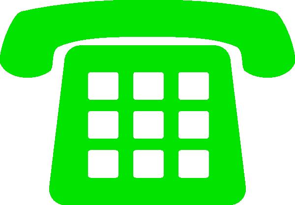 Landline Telephone Clipart.