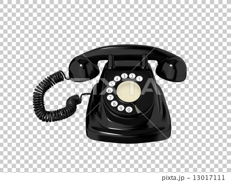 Rotary Dial Phone, Land Line, Landline T #65169.