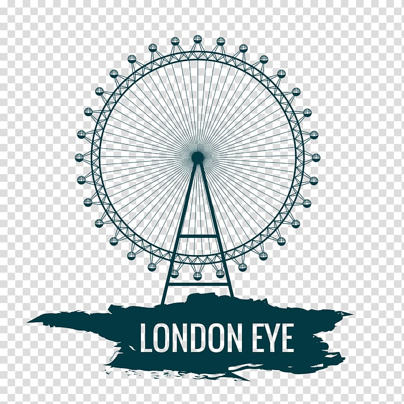 London Eye illustration, London Eye Cartoon, Creative London.