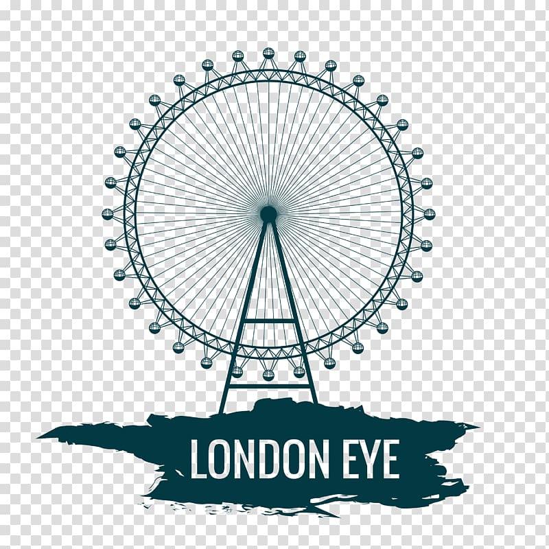 London Eye illustration, London Eye Cartoon, Creative London.