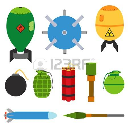 77 Landmine Stock Vector Illustration And Royalty Free Landmine.