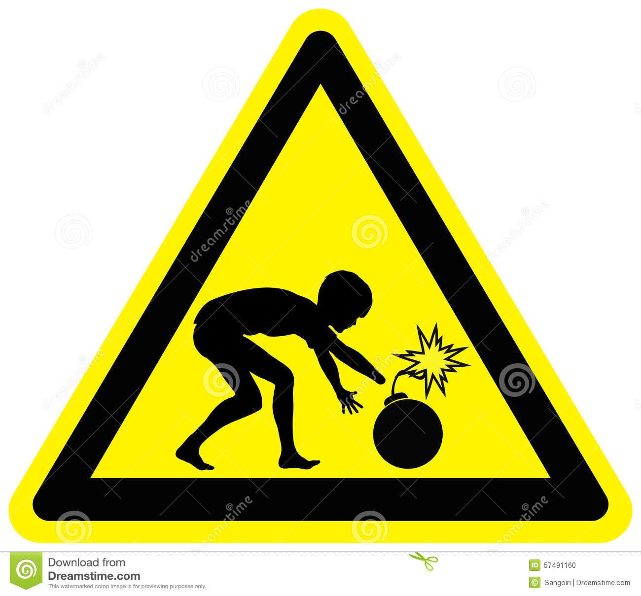 Landmine Stock Illustrations.