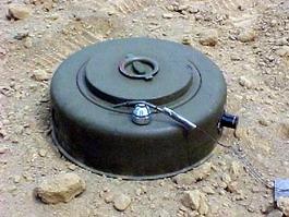 Landmine clipart.