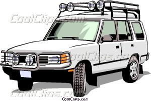Land Rover Vector Clip art.